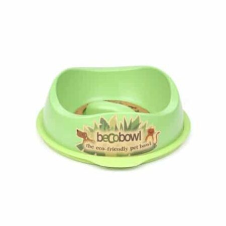 comedero anti ansiedad beco bowl verde